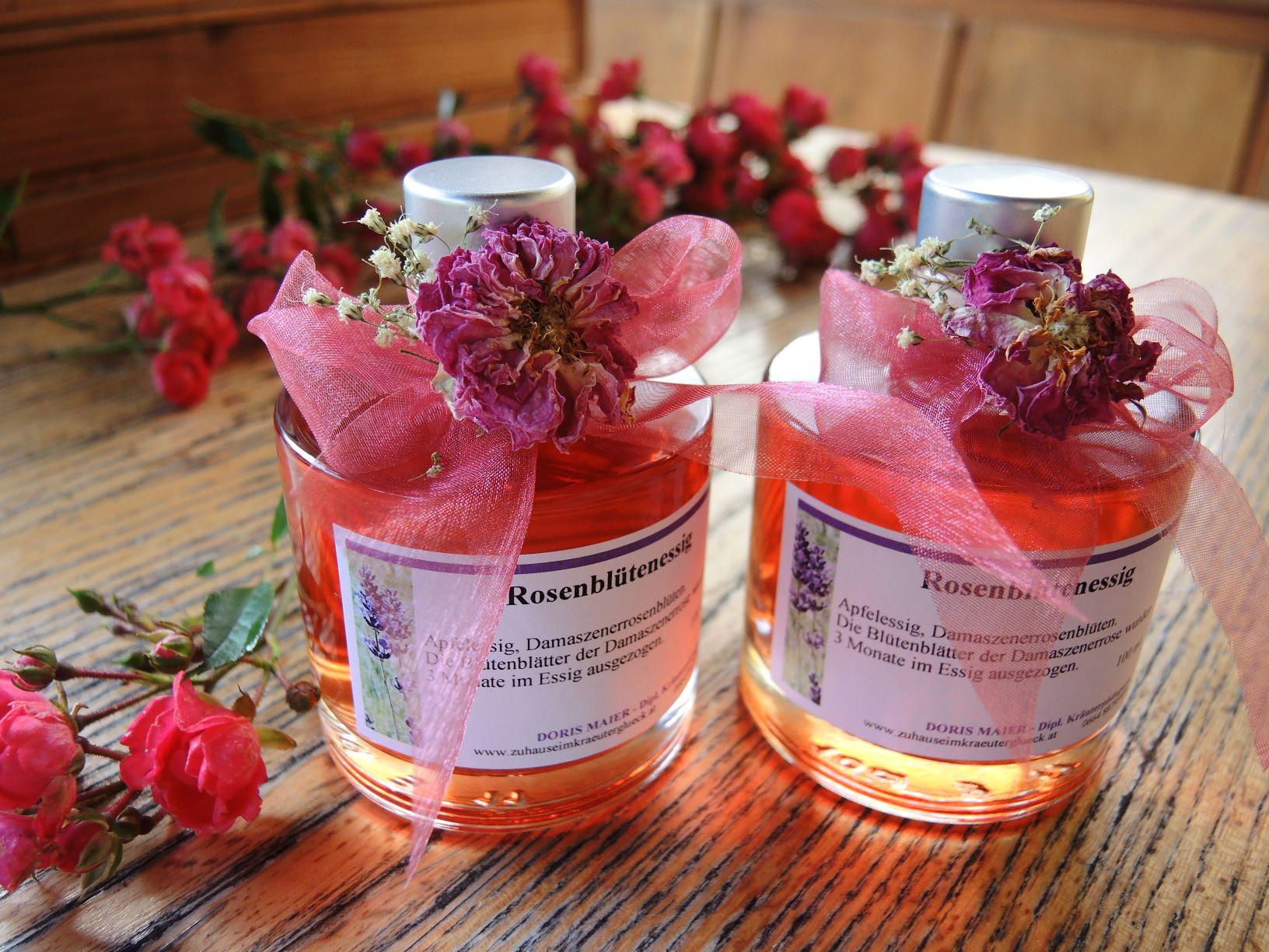 Duftender Rosenessig
